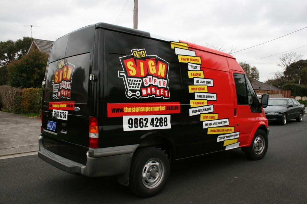 complete van wrap Melbourne
