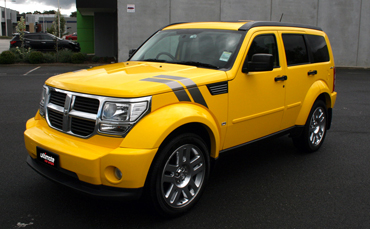Melbourne car wraps Dodge Nitro