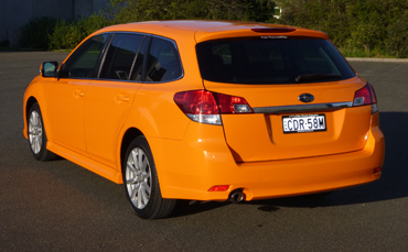 Subaru Liberty wagon wrapped in 3M 1080 vinyl Melbourne