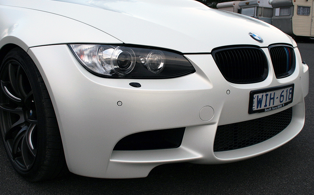 Bmw E92 M3 Wrapped In 3m Satin Pearl White Ultimate Car Wraps
