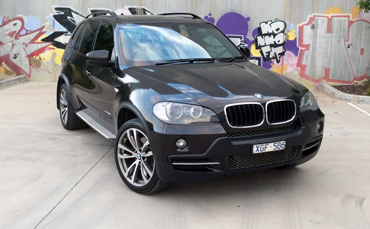 BMW X5 car wrap Melbourne