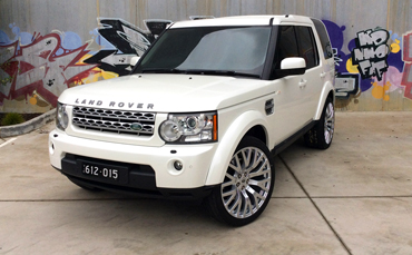 Land Rover Car wrap Melbourne