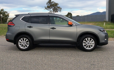 Nissan X-Trail Melbourne vehicle wrap