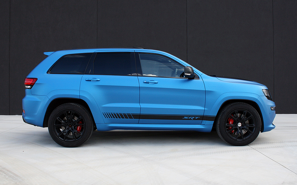 3M Car Wrap >> Jeep Grand Cherokee wrapped in 3M Matte Metallic Blue ...