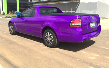 Holden ute wrapped in Melbourne