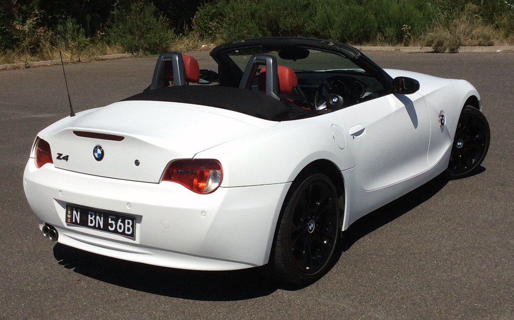 Bmw Z4 Wrapped In 3m Matte White Ultimate Car Wraps