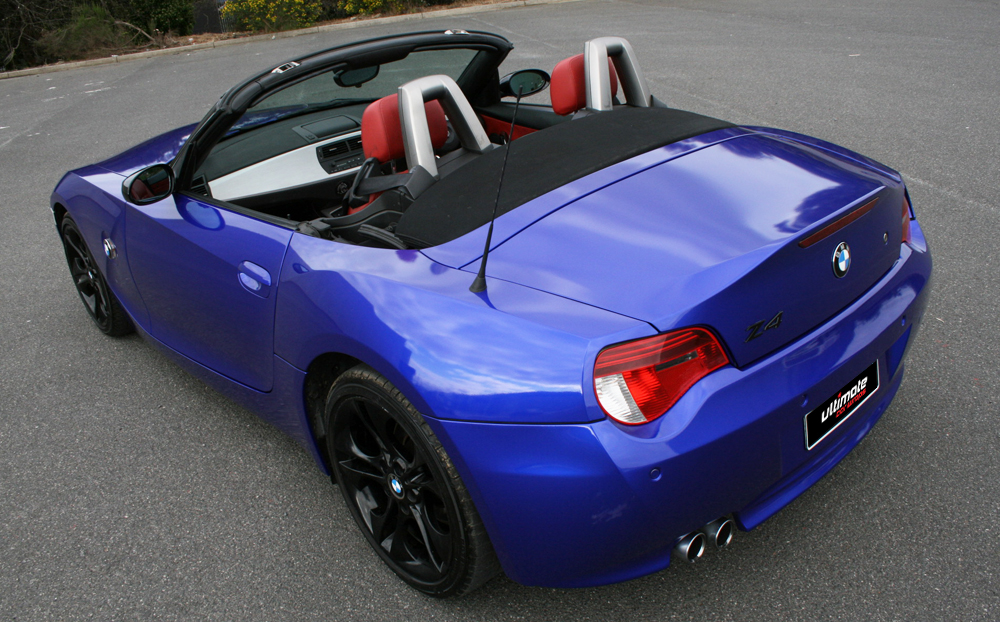 Bmw Z4 Wrapped In 3m Gloss Blue Raspberry Ultimate Car