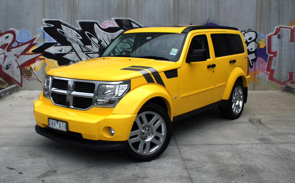 Dodge Nitro Wrapped In 3m Gloss Bright Yellow Ultimate