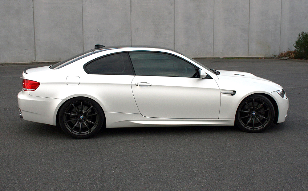 3M Car Wrap >> BMW E92 M3 wrapped in 3M satin pearl white - Ultimate Car ...