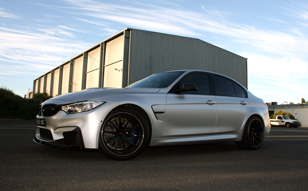 Bmw M3 Wrapped In 3m Satin White Aluminium Ultimate Car