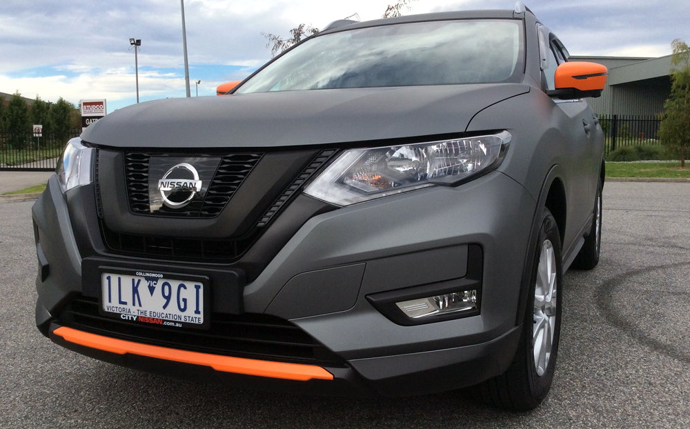 Nissan X Trail Wrapped In Avery Dennison Matte Metallic