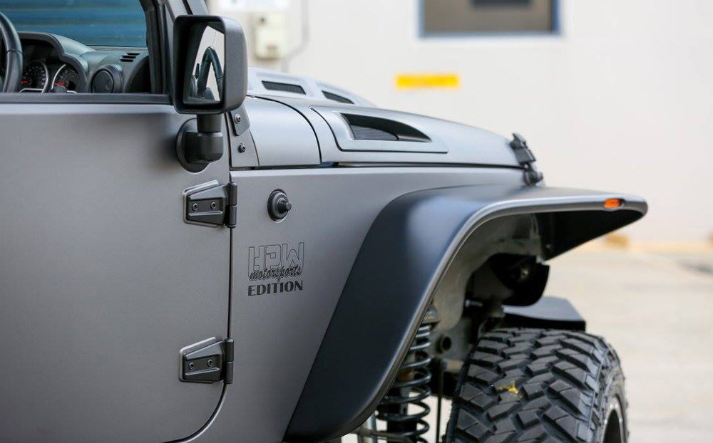 Jeep Wrangler Wrapped In 3m Matte Dark Grey Ultimate Car